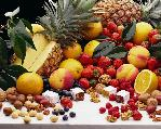 Gyümölcsös képeslap