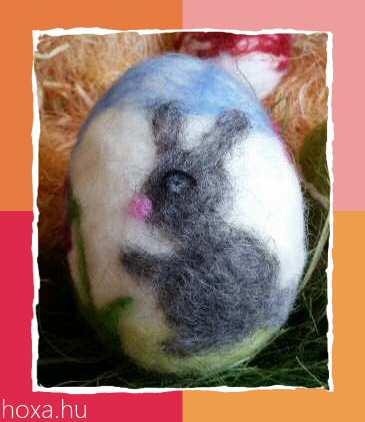 tűnemezelt húsvéti tojások